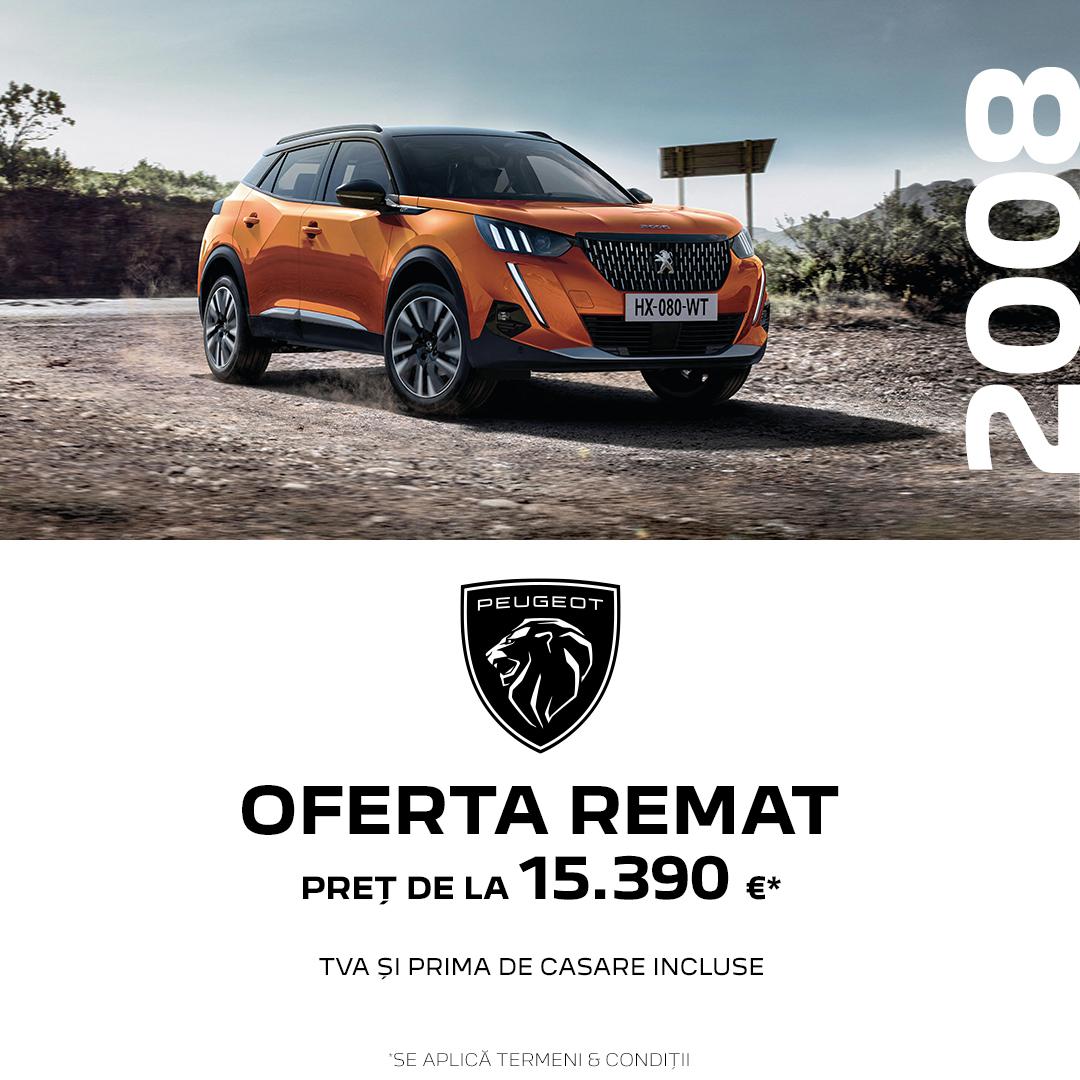 OFERTELE REMAT – Peugeot 2008